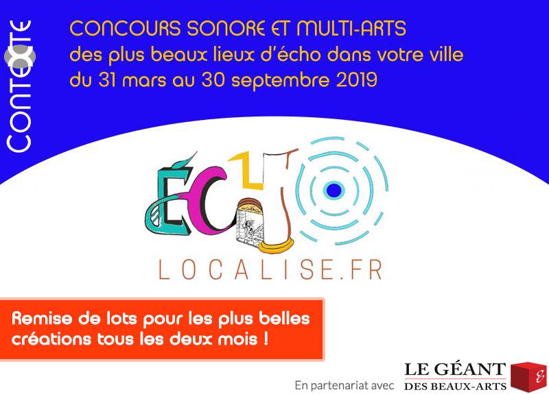 Concours Echolocalise du 31 mars au 30 septembre 2019