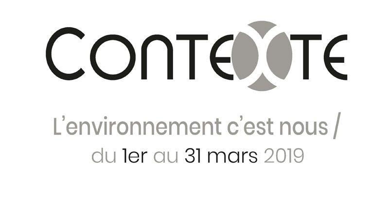 contexte, l'environnement c'est nous